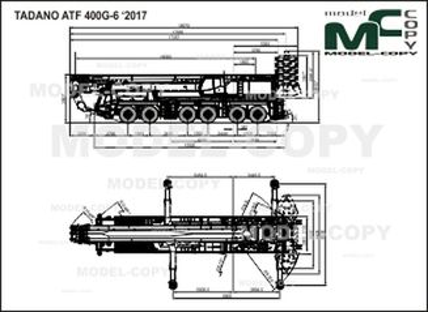 TADANO ATF 400G-6 '2017 - drawing