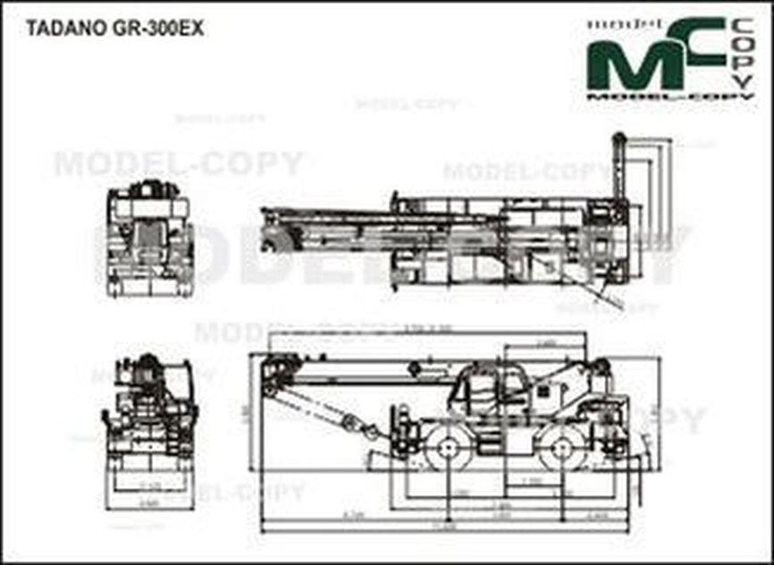 TADANO GR-300EX - drawing