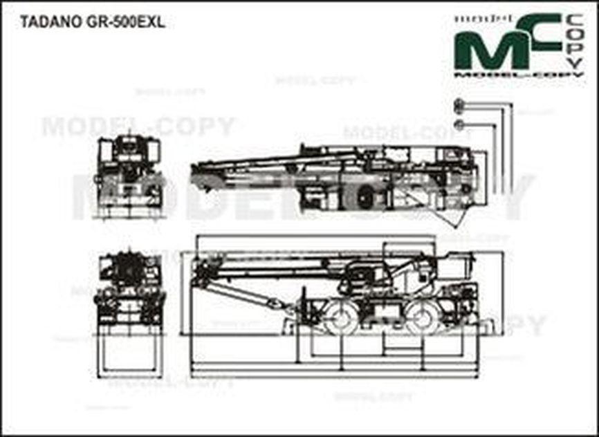 TADANO GR-500EXL - drawing