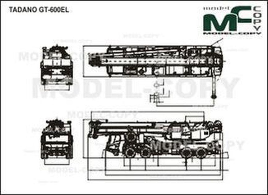 TADANO GT-600EL - drawing