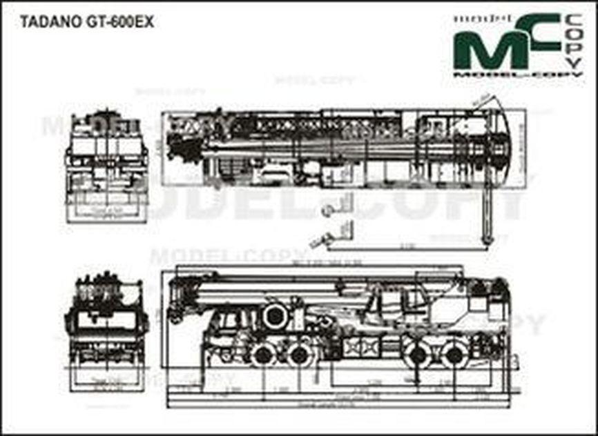 TADANO GT-600EX - drawing