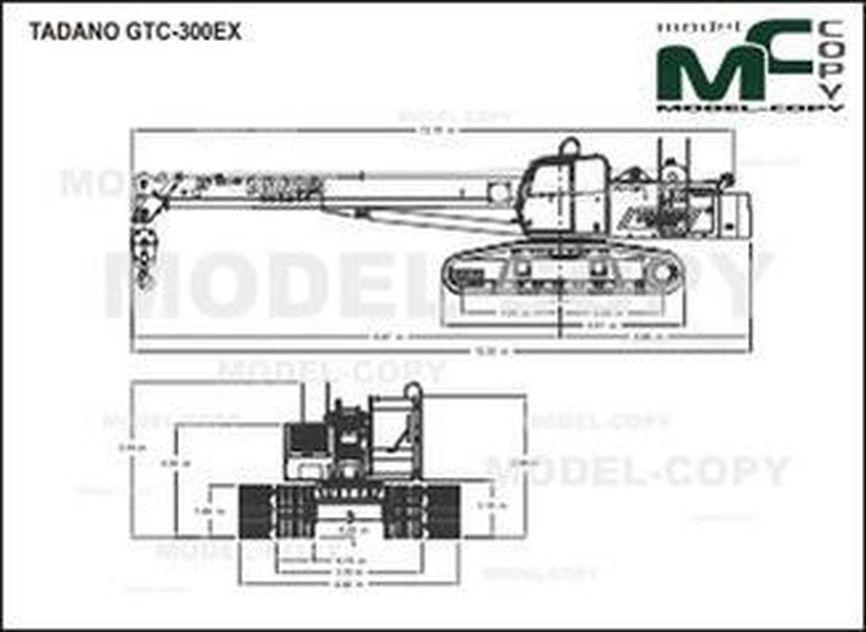 TADANO GTC-300EX - drawing