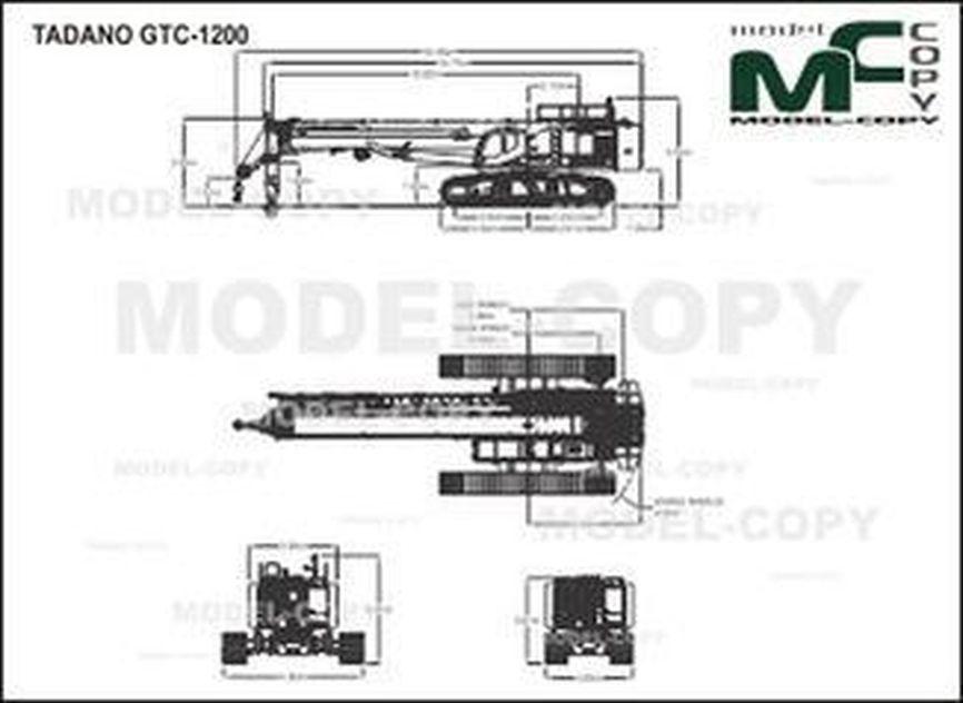 TADANO GTC-1200 - drawing