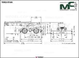 TEREX RT450 - drawing