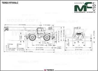 TEREX RT555LC - drawing
