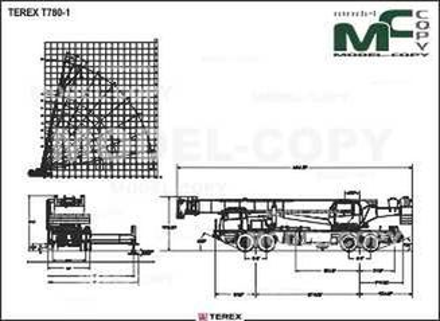 TEREX T780-1 - drawing