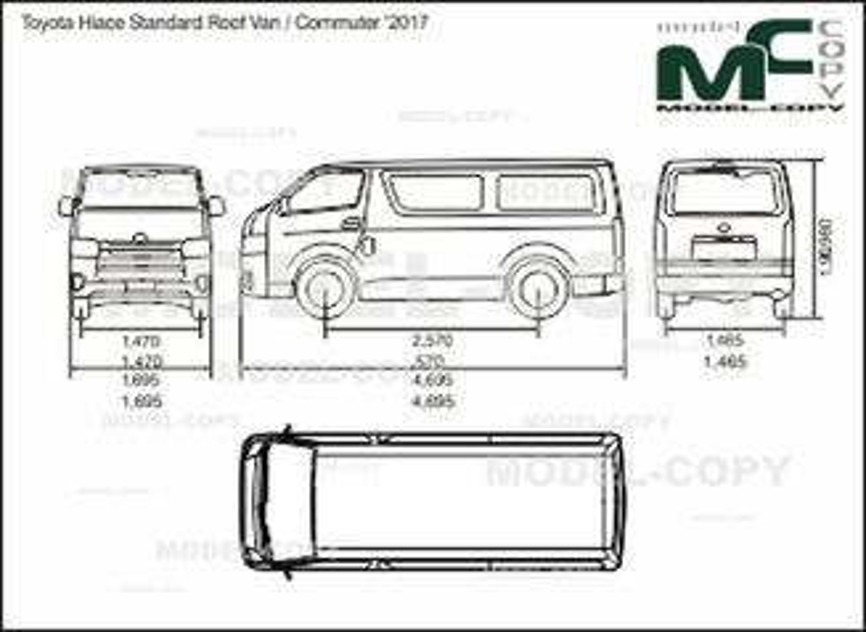 toyota hiace standard roof van    commuter  u0026 39 2017 -  uadf8 ub9bc - 41861