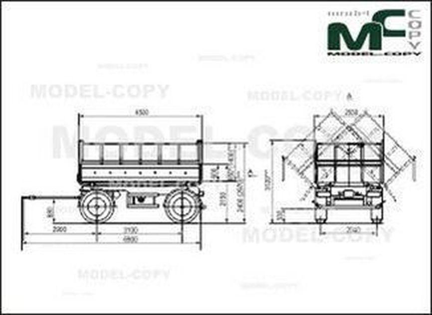 MAZ-857100-4012 - 2D drawing (blueprints)