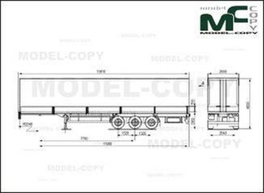 MAZ-975800-1014 - 2D drawing (blueprints)