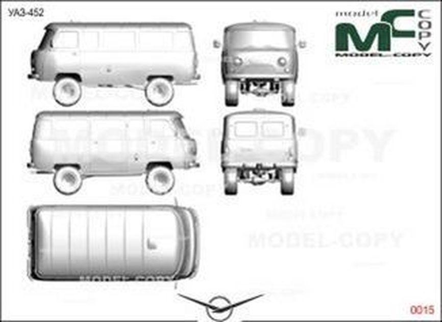 Uaz 452 Drawing 29271 Model Copy