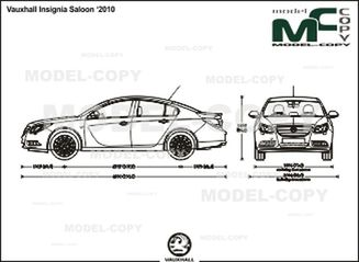 Vauxhall Insignia Saloon '2010 - drawing
