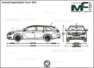 Vauxhall Insignia Sports Tourer '2010 - drawing