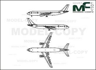 Airbus A300 - drawing
