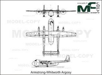 Armstrong-Whitworth Argosy - drawing