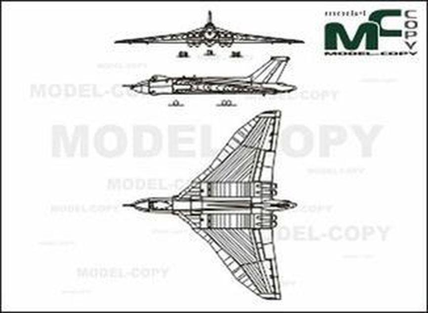 Avro Vulcan B Mk II - drawing