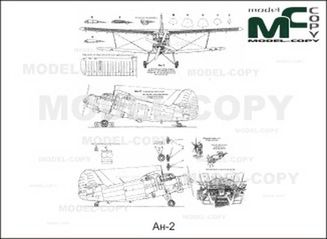 An-2 - drawing