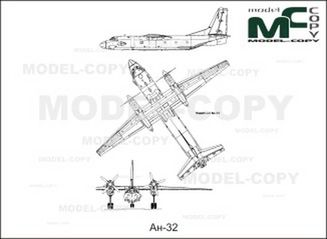 An-32 - drawing