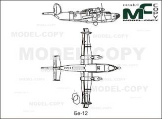 Be-12 - drawing