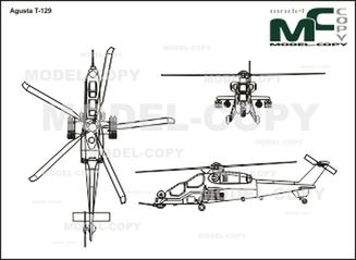 Agusta T-129 - drawing