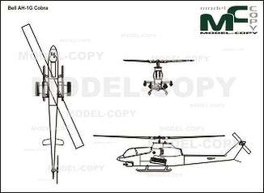 Bell AH-1G Cobra - drawing