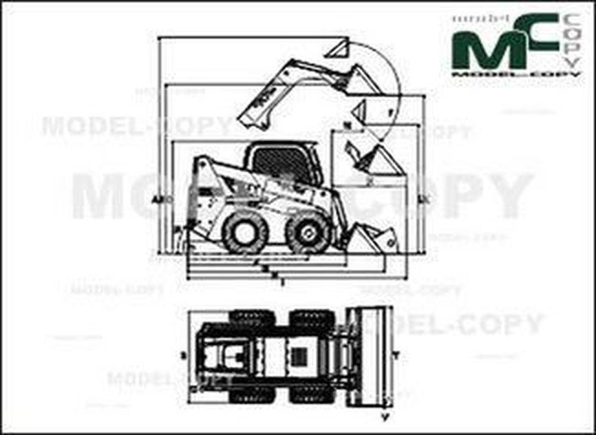 Wacker Neuson 901s - drawing