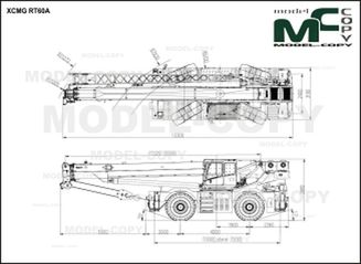 XCMG RT60A - drawing