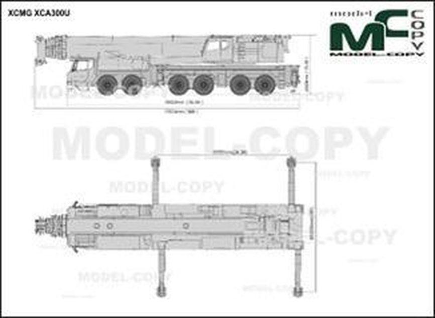 XCMG XCA300U - drawing