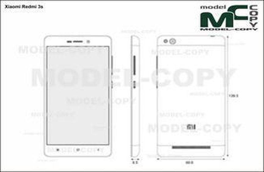 Xiaomi Redmi 3s - drawing