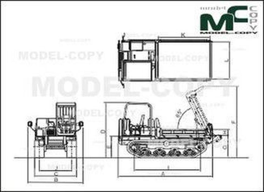 Yanmar C50R-3C - 2D drawing (blueprints)