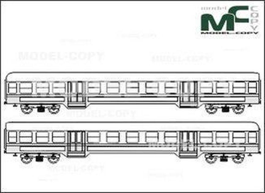 City Railway Waggon, Type ABn - drawing