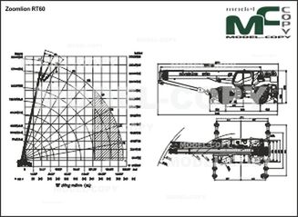 Zoomlion RT60 - 2D drawing (blueprints)