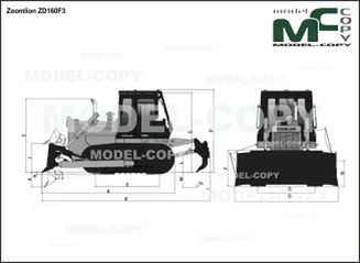 Zoomlion ZD160F3 - 2D drawing (blueprints)