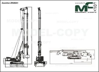 Zoomlion ZR280A1 - drawing
