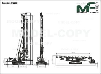 Zoomlion ZR220D - drawing