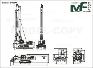 Zoomlion ZR160A1 - drawing