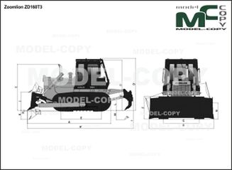 Zoomlion ZD160T3 - drawing