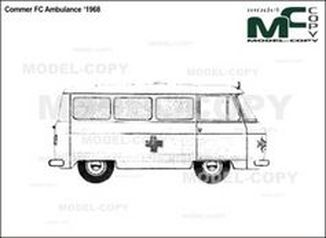 Commer FC Ambulance '1968 - drawing