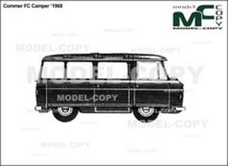 Commer FC Camper '1968 - drawing