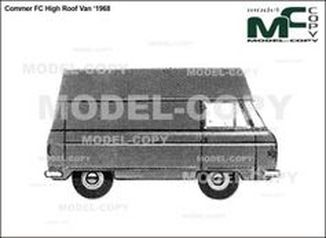 Commer FC High Roof Van '1968 - drawing