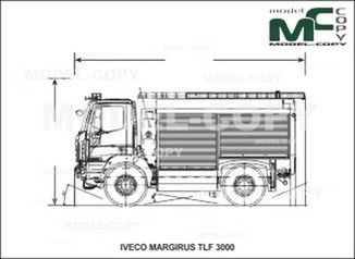 IVECO-MAGIRUS TLF 3000 - drawing