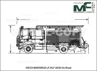 IVECO-MAGIRUS LF-HLF 20/20 On-Road - drawing