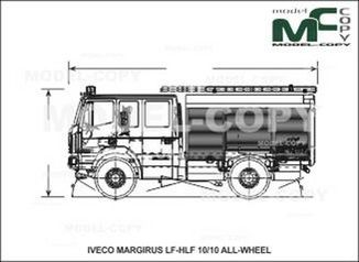 IVECO-MAGIRUS LF-HLF 10/10 ALL-WHEEL - drawing