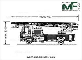 IVECO-MAGIRUS M 32 L-AS - drawing