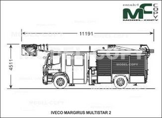 IVECO-MAGIRUS MULTISTAR 2 - drawing