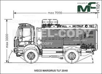 IVECO-MAGIRUS TLF 20/40 - drawing