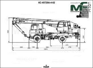Crane KS-45729A-4-02 (MAZ-5337A2-0000346-457) - drawing