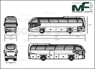 Neoplan Cityliner '2013 - drawing